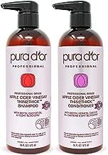 PURA D'OR Apple Cider Vinegar Thin2Thick Set Shampoo & Conditioner (2 x 16oz)..