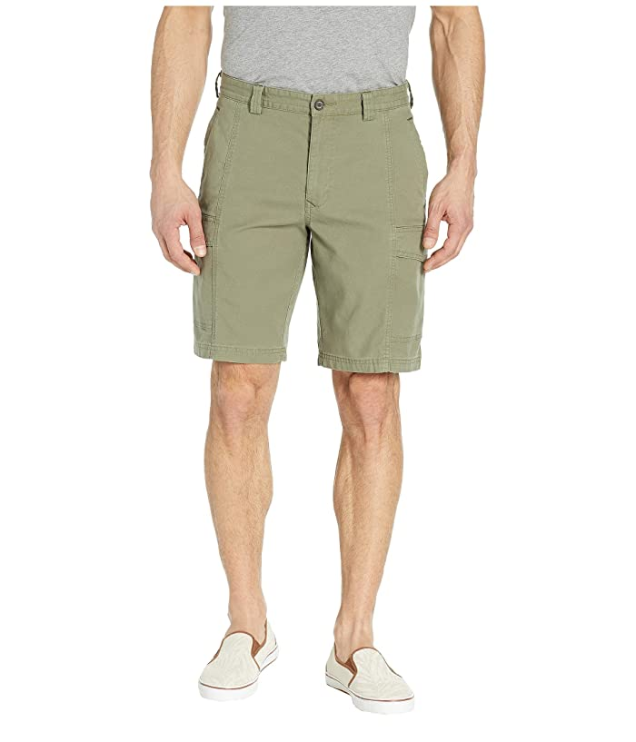 Tommy Bahama Key Isles Cargo Shorts (Tea Leaf) Men