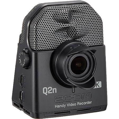 ZOOM ズーム ハイレゾ音質 ハンディビデオレコーダー フルHD 4倍鮮明な映像を記録 4K画質【メーカー3年延長保証付】 Q2n-4K