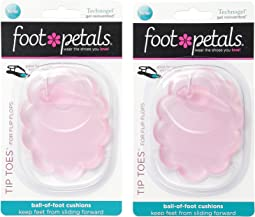 Foot Petals Technogel Tip Toes For Flip Flops 2-Pair Pack