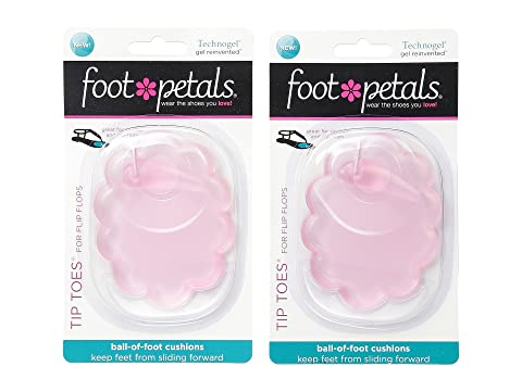 Foot Petals Technogel Tip Toes For Flip Flops 2-Pair Pack. $26.00. PAIR.  PAIR