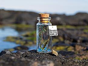 Gracias por estar siempre ahí. Mensaje de amistad. Amigos para siempre. Mensaje en una botella. Miniaturas. Regalo persona...