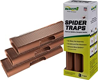 RESCUE Spider Traps, 3 Pack