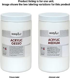Handy Art Student Acrylic, 32 oz, White Gesso/Medium