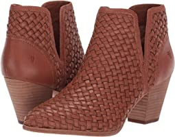 Reed Cut Out Woven Bootie