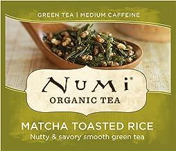 Numi Organic Tea Matcha Toasted Rice, 100 Count Box of Tea Bags, Green Tea (Packaging May Vary)