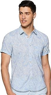 Pepe Jeans Men's Printed Regular fit Casual Shirt