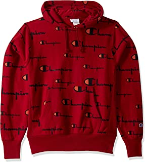 Men's Reverse Weave Pullover Hoodie All-Over Print