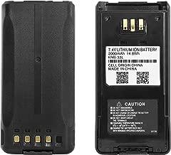 Guanshan KNB-33L 7.4V 2000mAh Li-ion Battery Compatible with Kenwood TK-2180 TK-3180 TK-5210 TK-5310 TK-5410 TK-2180K TK-3180K NX-410 NX-411 Radio