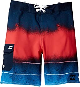 Billabong Kids - Tribong Lo-Fi Boardshorts (Toddler/Little Kids)