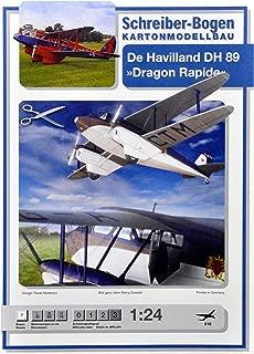Schreiber-Bogen De Havilland Dragon Rapide DH 89 Card Model