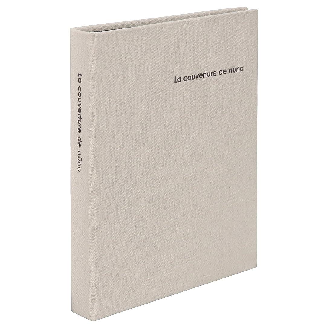 慢な故意の拾うHAKUBA ポケットアルバム nuno poche (ヌーノ ポッシュ) L-80 Lサイズ80枚 アイボリー ANN2-L80IV