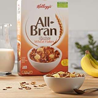 All-Bran Wheat Flakes Cereal (Pack of 4)