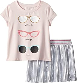 Sunglasses Skirt Set (Toddler/Little Kids)