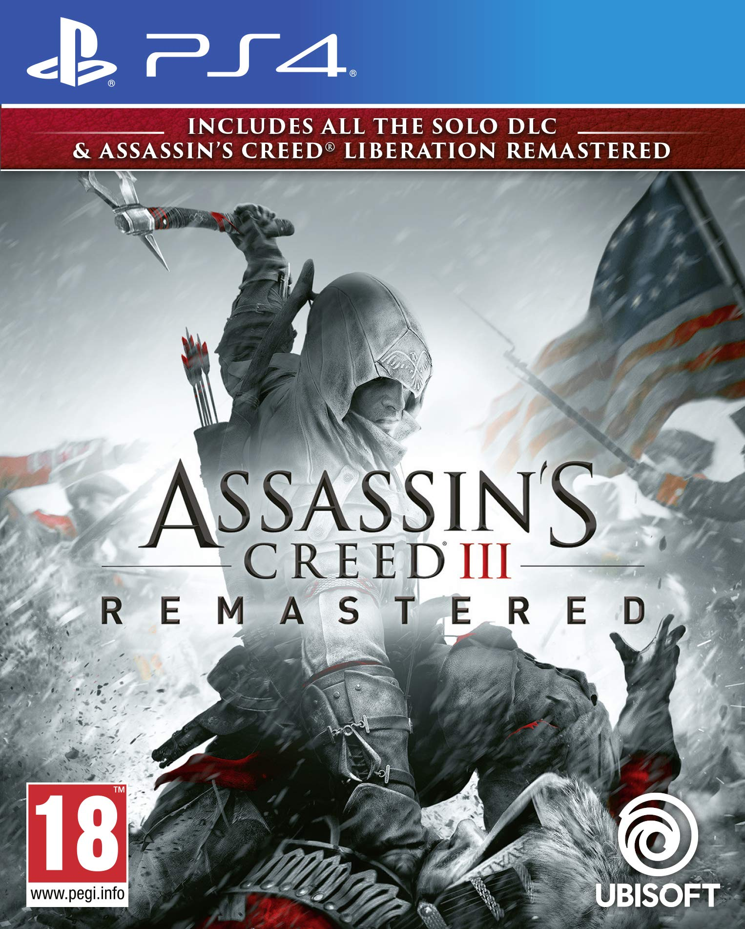 Amazon Com Assassin S Creed Iii Remastered Ps4 Video Games