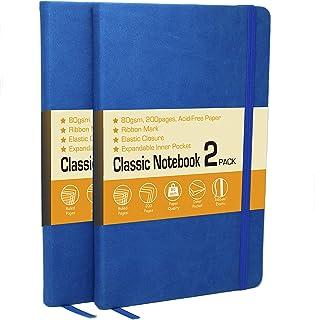 LYTek Classic Notebook Journals, 2 Pack 5.25