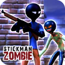 Stickman Zombie Hunter : FPS Shooter