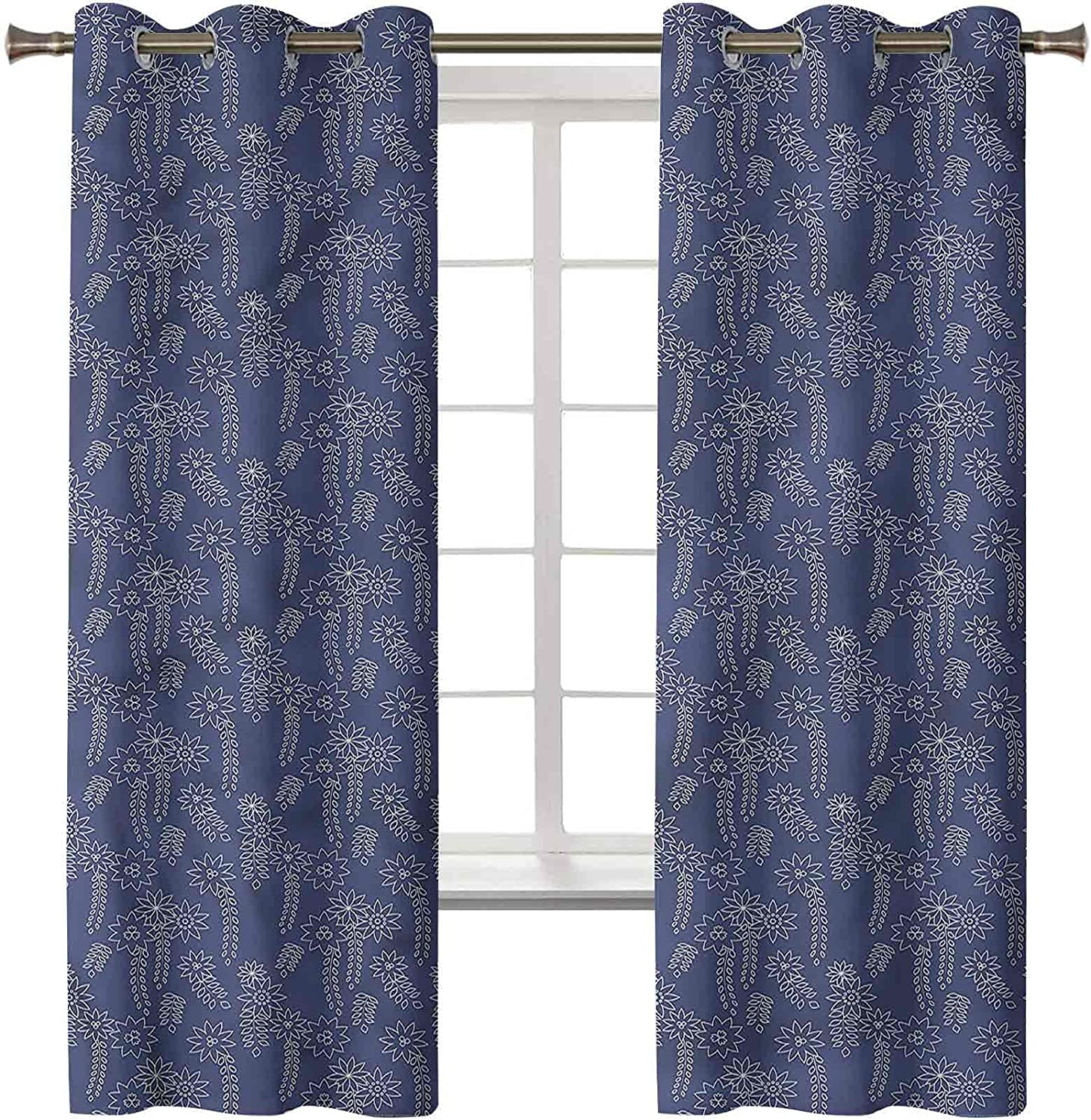 SALENEW very popular! Japanese Blackout Thermal Curtains Set of 2021 45L Panels x In 38W 2
