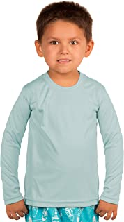 Toddler UPF 50+ UV Sun Protection Outdoor Performance Long Sleeve Performance T-Shirt