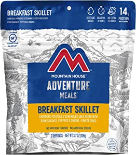 Mountain House Breakfast Skillet | Freeze Dried Backpacking & Camping Food | Gluten-Free