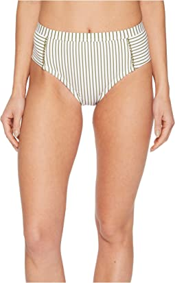 Splendid Picturesque High-Waist Bikini Bottom
