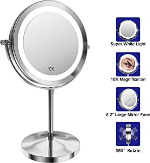 Best wall mounted magnifying mirror x5 Reviews