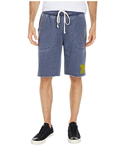 Champion College Michigan Wolverines Victory Shorts (Dark Navy) Men