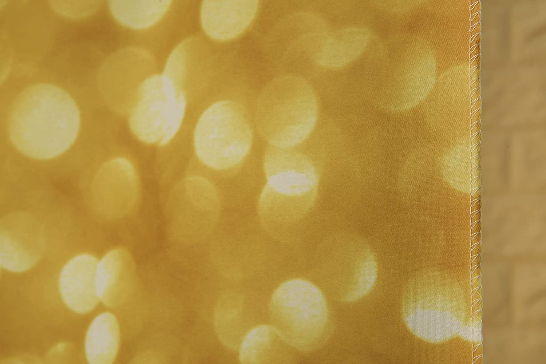 Kackool 6.5ftx 5ft Ivory Gold Spots Photography Backdrops Birthday Party Newborn Bathing Christmas Photography Background