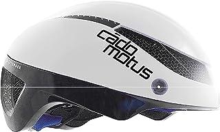 Cádomotus Omega Aero Helm wit, aerodynamische helm voor fietsen, triatlon en schaatsen, ultra licht en weinig luchtweersta...