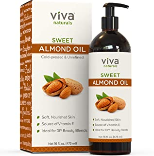 Almond Oil; Sweet Almond Oil for Skin or Almond Oil for Hair, The Perfect Natural Body..