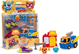 SuperZings - Series 2 - Rivals of Kaboom: Bakery Mission (SZSP0200), with 2 Figures, 2 Vehicles and 1 Bakery
