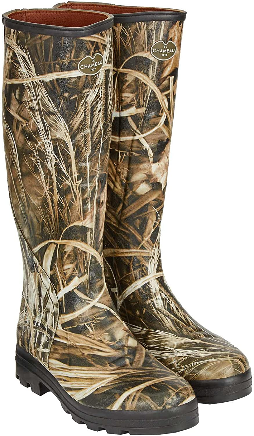Men's TRAQUEUR CAMO ONSTEAM Lined Boots Traquer Camo- Real Tree M