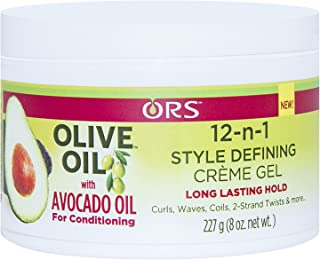 Ors Olive Oil 12-n-1 Style Defining Creme Gel, 8oz, 8 Oz