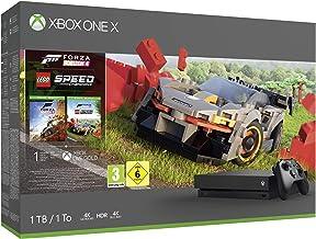 Microsoft Xbox One X 1TB Console (Black) with Forza Horizon 4 Lego Speed Champions Bundle