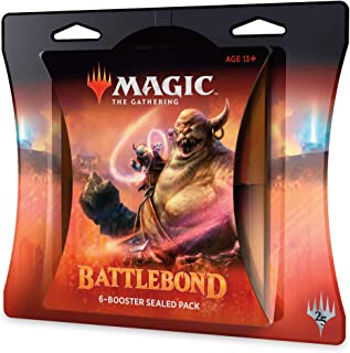 Magic: The Gathering Battlebond Battle Pack | 6 Battlebond Booster Packs (90 Cards)