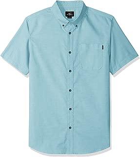O'NEILL Men's Casual Modern Fit Short Sleeve Woven Button Down Shirt