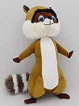 Nanco Plush RJ Raccoon Character Dreamworks Over the Hedge Stuffed Animal Toy