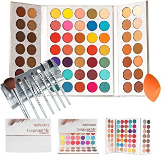 Beauty Glazed Gorgeous Me Eyeshadow Palette Pigmented Professional Makeup Pallet Long Lasting Eye...