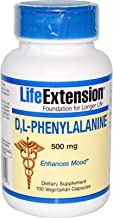 D,L-Phenylalanine Capsules 500 mg, 100 Vegetarian Capsules-Pack-2