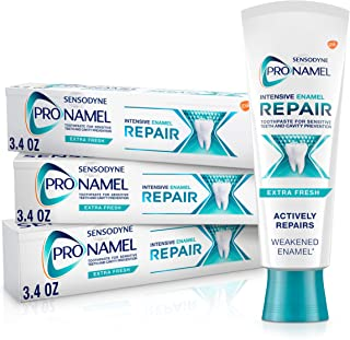 Sensodyne Pronamel Intensive Enamel Repair Toothpaste for Sensitive Teeth, to Reharden and Strengthen Ename...