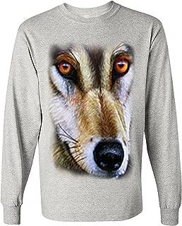 Men's Long Sleeve Shirt Wolf