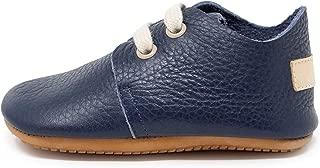 Ella Bonna Mini Baby Oxford Shoe | Full Grain Leather Sole | Flexible | Handmade, Designer Walker | Infant Boy Girl Toddler