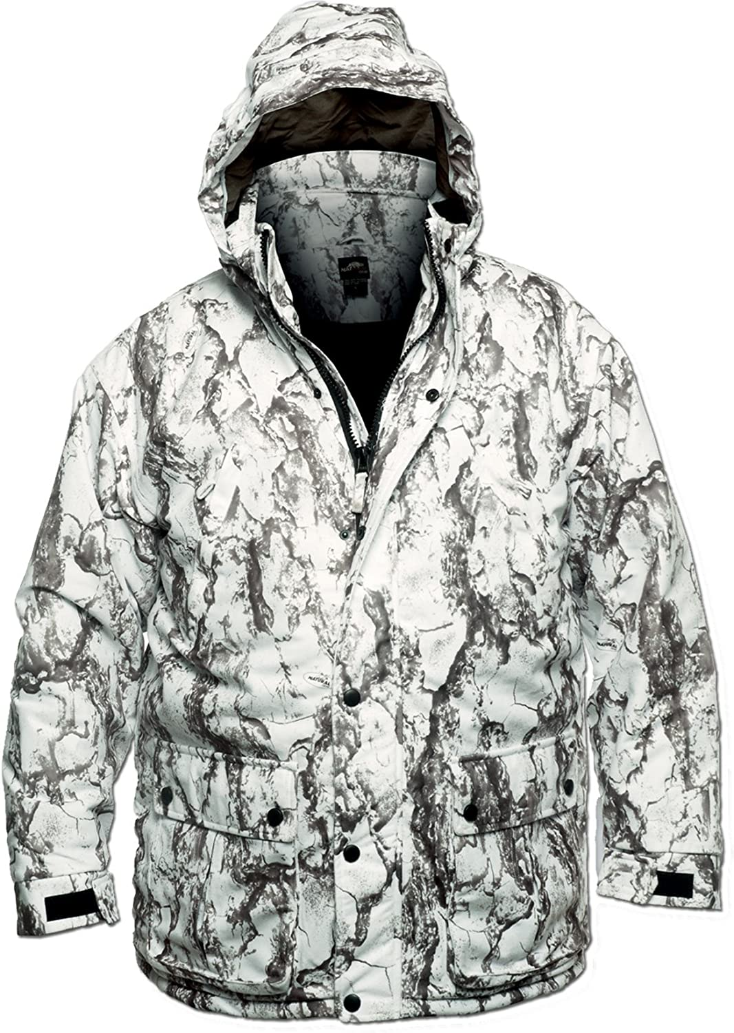 Natural Gear Mens Snow Parka Insulated Waterproof Polyester