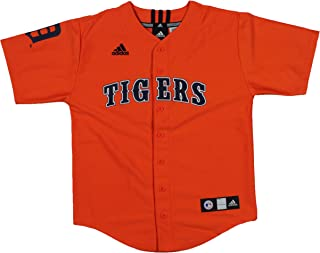 adidas MLB Detroit Tigers Cooperstown Collection Youth Boys Jersey, Orange