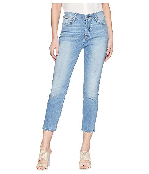 7465fbf94f8 7 For All Mankind High-Waist Josefina w/ Distress in Heritage Valley ...