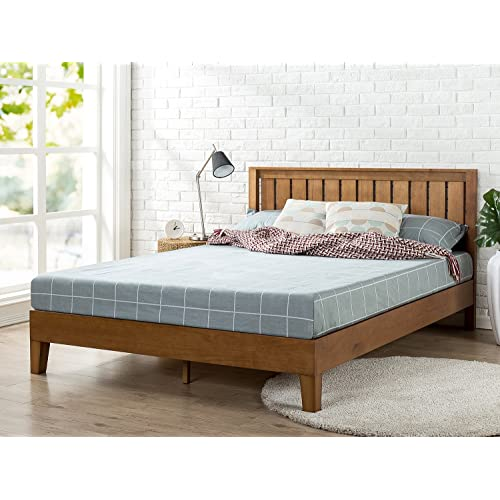Platform Beds With Headboards Amazon Com