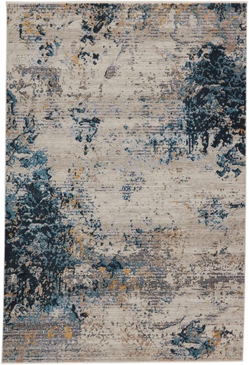 Jaipur Living Terrior Abstract Super intense SALE Blue Area National products Rug 7'10