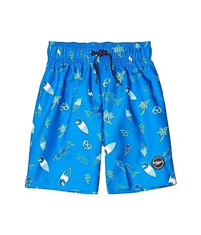 Speedo Kids Beach Time Redondo Volley Shorts (Little Kids/Big Kids) (Blue Lemonade) Boy