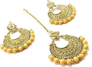 Orange Women's Earrings: Buy Orange Women's Earrings online