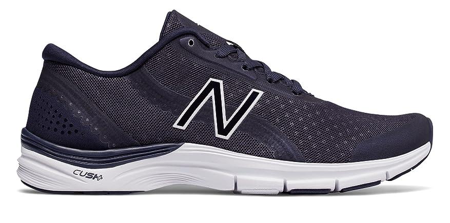 説明耐えられない動かない(ニューバランス) New Balance 靴?シューズ レディーストレーニング 711v3 Mesh Trainer Fun Pack Pigment with White ピグメント ホワイト US 10.5 (27.5cm)